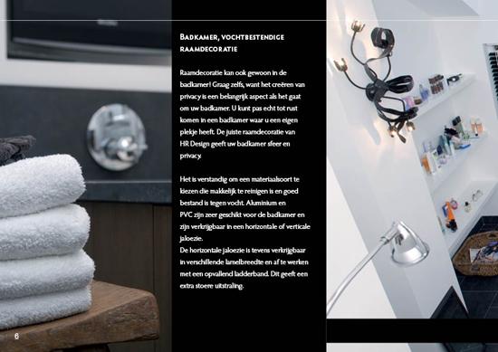 HR Design wooninspiratie brochure